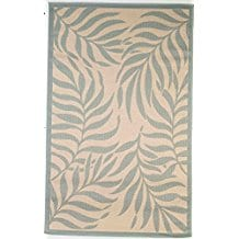 Contemporary-Tropical-Design-Area-Rug Outdoor and Indoor Tropical Area Rugs