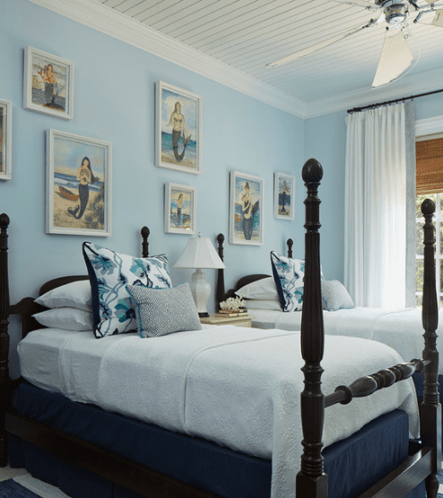 Dove-Shell-Project-by-L-K-DeFrances-and-Associates 101 Beach Themed Bedroom Ideas