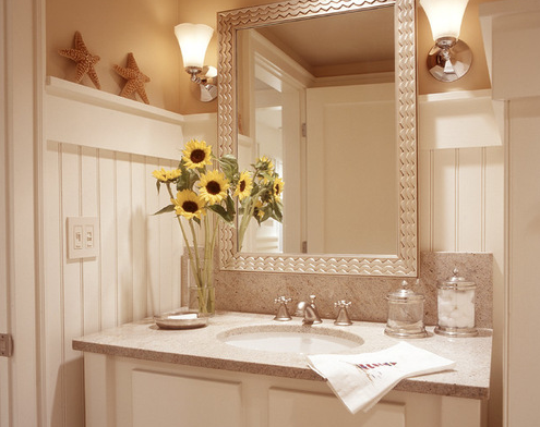 Duneseye-by-Sylco-Cabinetry 101 Beach Themed Bathroom Ideas