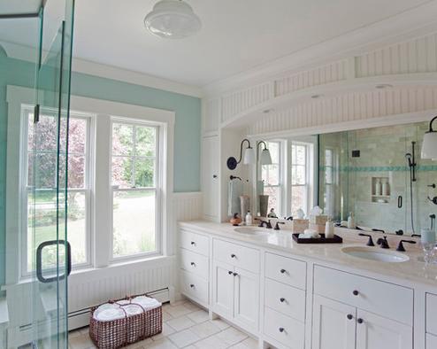 Fair-Winds-by-Taste-Design-Inc 101 Beach Themed Bathroom Ideas