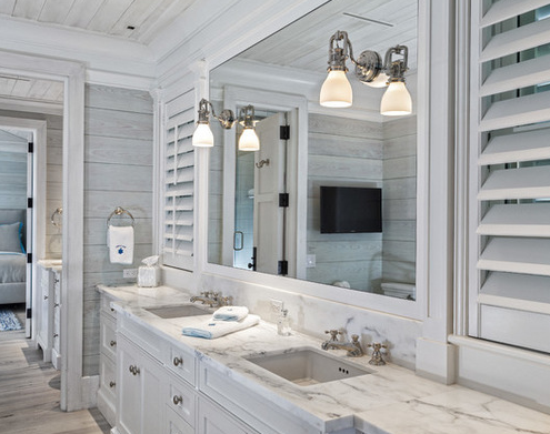 Florida-Beach-Cottage-by-Village-Architects-AIA-Inc 101 Beach Themed Bathroom Designs