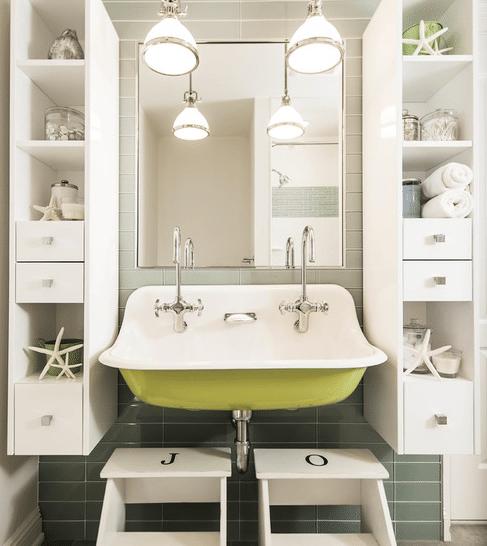 Fox-Run-Residence-by-Z-Architects-LLC 101 Beach Themed Bathroom Ideas