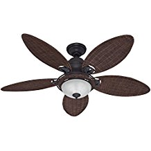 Hunter-Fan-Company-54095-Caribbean-Breeze-54-Inch-Ceiling-Fan-194 Best Palm Leaf Ceiling Fans