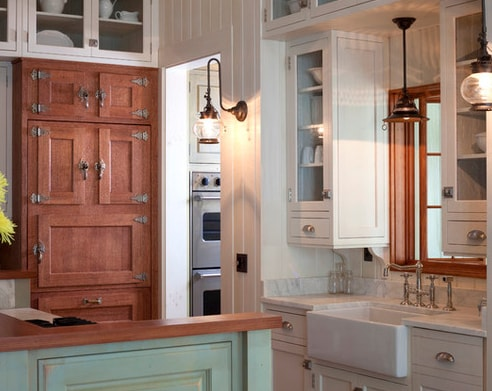 Kitchen-Detail-Group3 101 Beautiful Beach Cottage Kitchens
