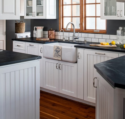 La-Jolla-Beach-Cottage-by-CM-Natural-Designs 101 Beautiful Beach Cottage Kitchens