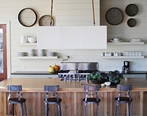 Lake-House-by-Yvonne-McFadden-LLC 101 Beautiful Beach Cottage Kitchens