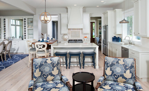 Lakefront-Living-IV-by-Mike-Schaap-Builders 101 Beautiful Beach Cottage Kitchens
