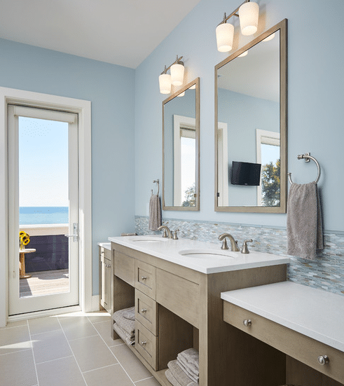 Lakefront-Living-VII-by-Mike-Schaap-Builders 101 Beach Themed Bathroom Ideas