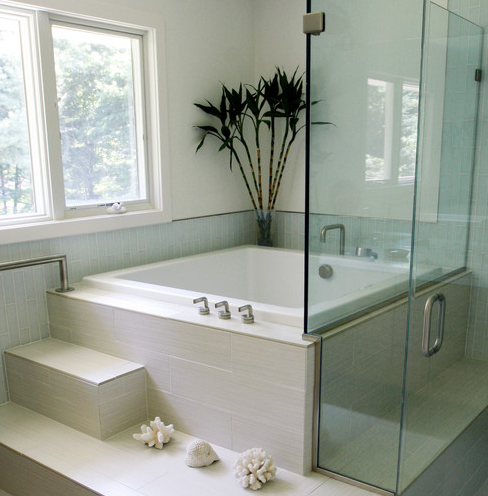 Linwood-Circle-by-Wilkes-Architects-Princeton-Design-Guild 101 Beach Themed Bathroom Ideas