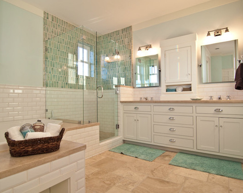 Merveilleux Master Bath By Natalie DiSalvo 101 Beach Themed Bathroom Ideas
