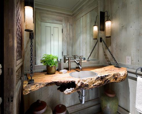 Muskoka-Cottage-by-Lisa-Stevens-and-Company-Inc-1 101 Beach Themed Bathroom Ideas