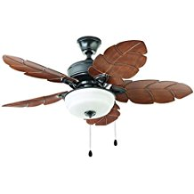 Palm-Cove-44-in.-Outdoor-Natural-Iron-Ceiling-Fan Best Palm Leaf Ceiling Fans