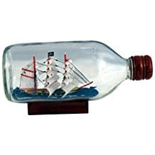Pirate-Ship-in-a-Bottle Ship In A Bottle Kits and Decor