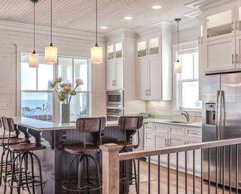 Romar-Cottage-The-Cottages-Kitchen-Design-Erin-E.-Kaiser 101 Beautiful Beach Cottage Kitchens