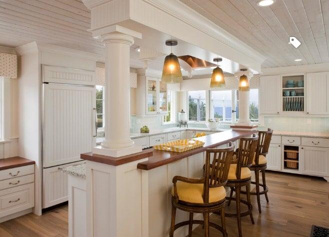 101 beautiful beach cottage kitchens - beachfront decor