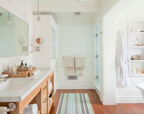 Santa-Monica-Beach-House-by-Evens-Architects 101 Beach Themed Bathroom Ideas