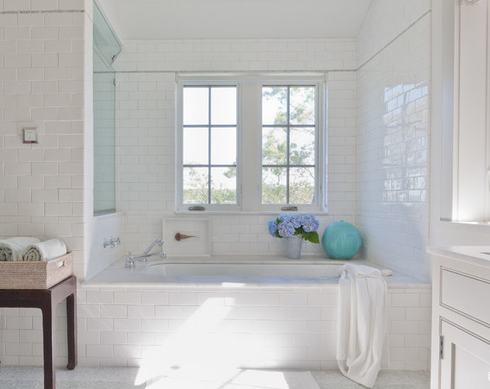 Shelter-Island-Beach-House-by-Wettling-Architects 101 Beach Themed Bathroom Designs