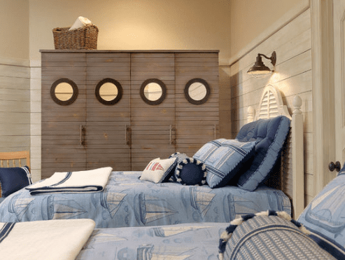 Summer-Cottage-by-Diane-Rosen-Interiors-LLC 101 Beach Themed Bedroom Ideas
