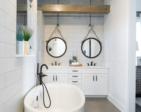 The-EverBank-Field-Stadium-Home-by-True-Design-Studios 101 Beach Themed Bathroom Designs
