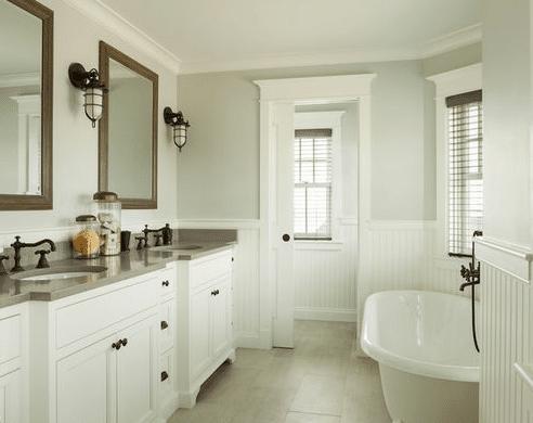 The-Summer-House-by-JS-Interiors-LLC 101 Beach Themed Bathroom Ideas