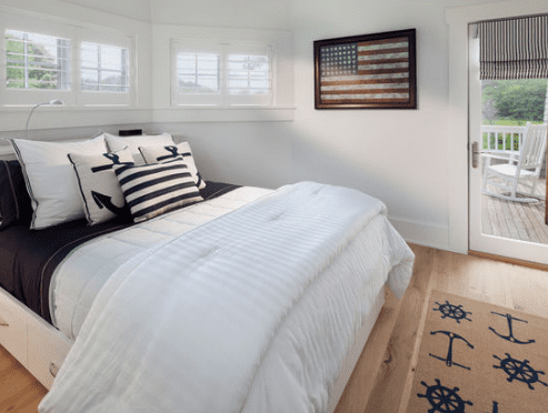 Vacation-Home-in-Rohoboth-Beach-DE-by-Morgan-Howarth-Photography 101 Beach Themed Bedroom Ideas