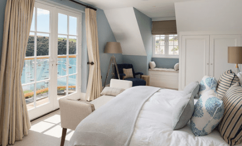 Waterside-Home-by-Woodford-Architecture-and-Interiors 101 Beach Themed Bedroom Ideas