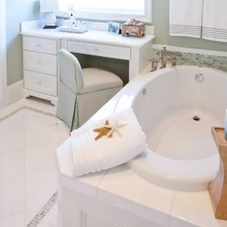 beach-bathroom-decor Beautiful Beach Decor For Your Home