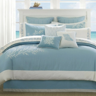 beach-bedding Beautiful Beach Decor For Your Home