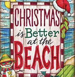 Beach Christmas Decor and Coastal Christmas Decor
