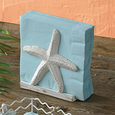 beach-napkin-holders Beautiful Beach Decor For Your Home