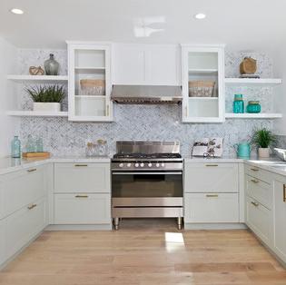 beach-themed-kitchens Beach Home Decor
