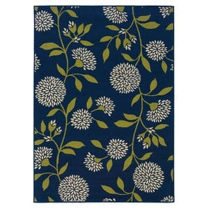 blue-green-tropical-area-rug Outdoor and Indoor Tropical Area Rugs
