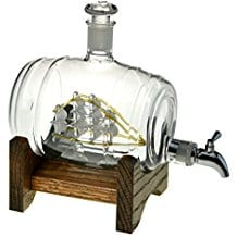 bourbon-barrel-decanter-ship-in-a-bottle Ship In A Bottle Kits and Decor