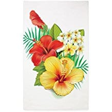 cafepress-tropical-hibiscus-3-by-5-area-rug Outdoor and Indoor Tropical Area Rugs