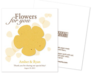 flowers-for-you-favors Best Seed Packet Wedding Favors You Can Buy