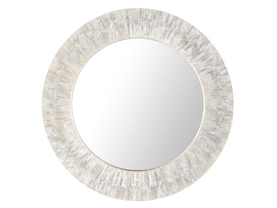 kouboo-capiz-shell-mirror Oyster Capiz and Sea Shell Mirrors