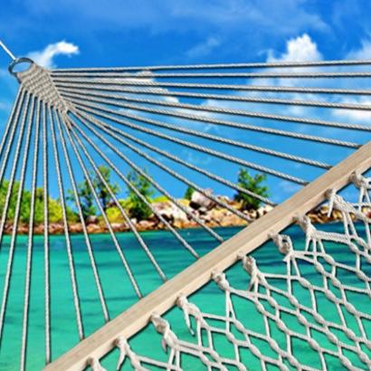 outdoor-hammocks Beach Home Decor