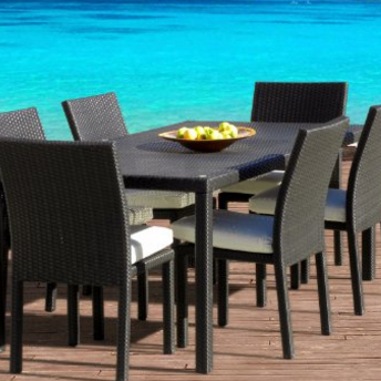 outdoor-patio-furniture Beautiful Beach Decor For Your Home