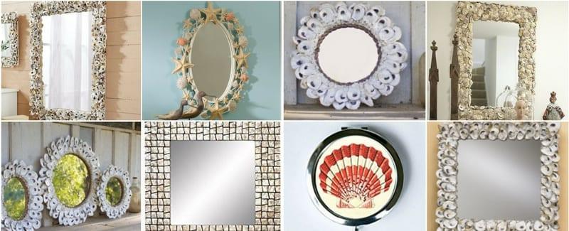 shell mirrors