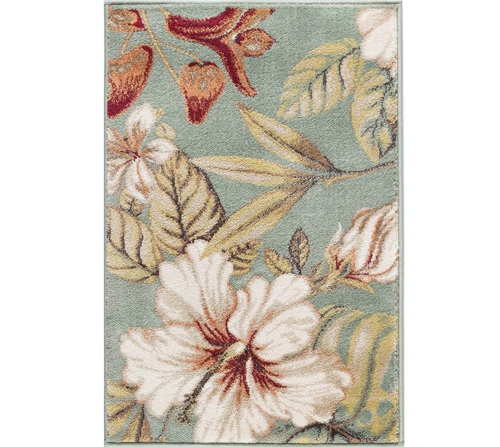 tropical-area-rug Outdoor and Indoor Tropical Area Rugs