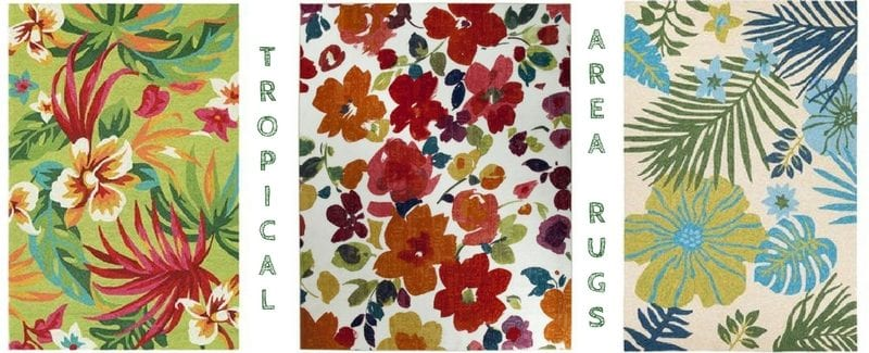Tropical Rugs and Tropical Area Rugs