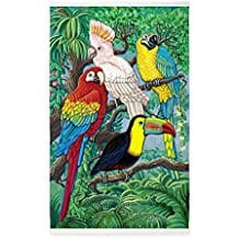 tropical-birds-area-rug Outdoor and Indoor Tropical Area Rugs