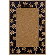 tropical-palm-tree-6-inches-by-9-inches-rug Outdoor and Indoor Tropical Area Rugs