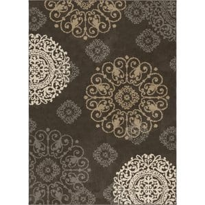 vigil-taupe-tropical-area-rug-8x10 Outdoor and Indoor Tropical Area Rugs