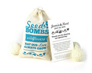 wildflower-seed-bombs-for-favors Best Seed Packet Wedding Favors You Can Buy