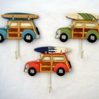 woody-towel-hooks-for-bathroom Beach Home Decor