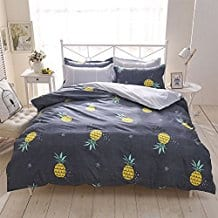 4pcs-Beddingset-Duvet-Cover-Set Pineapple Bedding Sets and Duvet Covers