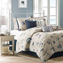 Bayside-Comforter-Set Seashell Bedding and Comforter Sets