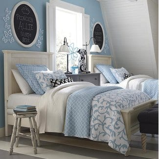 BlithedalePanelBed Beach and Coastal Bedroom Furniture