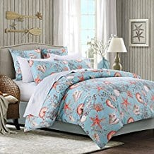 Brandream-Luxury-Nautical-Bedding-Designer-Beach-Themed-Bedding-Sets Seashell Bedding and Comforter Sets